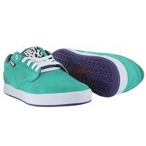 Tenis De Skate Baratos Heydog Bulldog Aqua 24 Mx Shoes