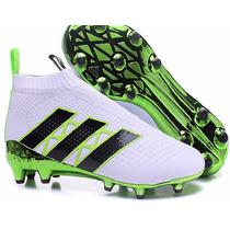 Chuteira Adidas Ace16+ Purecontrol Pogba Futebol / Ag Orig.