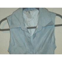 Vestido Largo Cedosce C2c Lino/algodón Nuevo Talla M