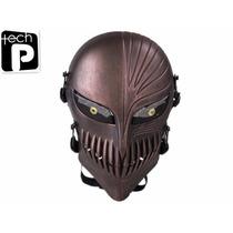 Mascara De Paintball Tech-p Death Skull Face Mask -