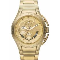 Relógio Armani Exchange Ouro Gold Ax1407 Video Real Produto