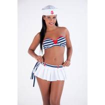 Fantasia Marinheira Dos Sonhos Frete Gratis