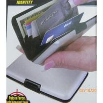 Cartera Billetera Porta Tarjeta Aluminum Wallet