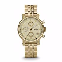 Relógio Dourado Feminino Fossil 2197 Technos Orient Dumont