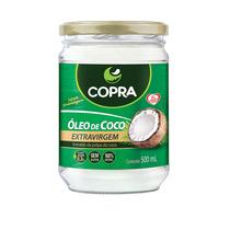 Óleo De Coco Extra Virgem Copra 500ml - 12 Unidades + Frete