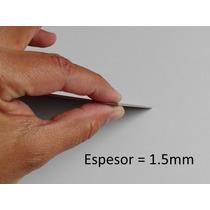 Titanio Puro Lamina Gr2 Espesor 1.5mm 200mm X 300mm