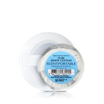 Refil Scentportable Bath & Body Work - Pure White Cotton 6ml