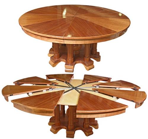 Projeto completo mesa redonda extensivel em pdf r 25 90 - Mesa redonda 4 personas ...