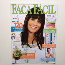 Revista Faça Fácil Fernanda Vasconcellos Páscoa Coelhos N°21