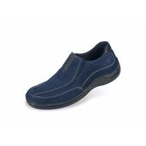 Zapato Casual Para Hombres Mega 1253 Azul