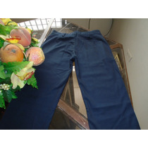Pantalón Escolar Nuevo Niña T/26 Y 28 Algodon