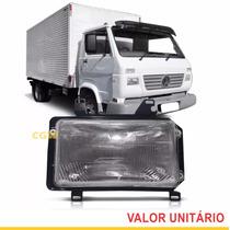 Farol Caminhão Vw Linha Leve 8.120 8.150 2000/.. Motorista