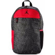 Mochila Nike Air Jordan Jumpman Backpack Black/gym Red