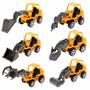 Coleção Kit 6 Brinquedos Carros Maquinas Divertidas