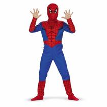 Fantasia Homem Aranha Tamanho 3/4 Anos C/ Mascara