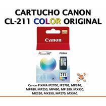 Cartucho Canon Cl-211 Color Nuevo Original Vigente.