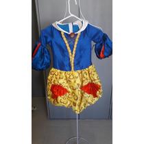 Blanca Nieves Snow White Vestido Disfraz Nuevo T6 Importado
