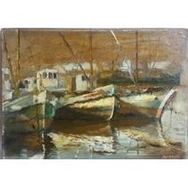 Pintura Oleo De Alfredo Lazzari. No Berni