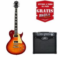 Guitarra Sx Les Paul + Amplificador Peavey Rage 158 Combo!!!