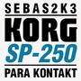 Piano Korg Sp-250 Para Kontakt