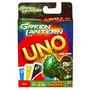 Juego Mattel Green Lantern Juego De Cartas Uno
