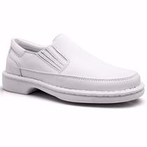 Sapato Social Masculino Conforto Medico Dentista Enfermeiro