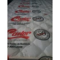 Colchão Castor Casal D33 138x188x25 Selado Iner-inmetro