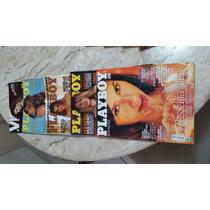 Lote 4 Revista Playboy Bbb - 1 Revista Vip