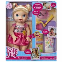 Baby Live Hora De Comer A7022 Hasbro Original