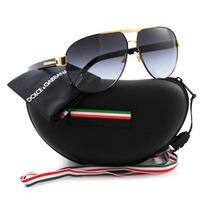 Gafas De Sol Dolce & Gabbana Dg Lente Negro Marco Negro Con