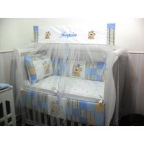Kit Protetor De Berço Americano/bebê/enxoval/personalizado