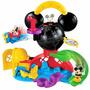 Casa De Mickey Mouse Juguete Set Con Figuras, 41 X 35 Cm (m
