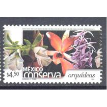 Mexico Conserva Orquideas $4.50 Flora