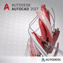 Licencia Autodesk Autocad 2017 1 Usuario 1 Año Windows