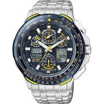 Relógio Citizen Jy0040-59l Jy0040 Blue Angels Skyhawk