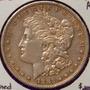 1882 S Dolar Morgan Plata Moneda Rara Antigua Tono Hb8 Aaaa