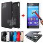 Funda Spigen Slim Armor Sony Xperia Z4 Z3 Plus + Templado