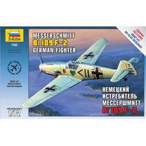 Avion Zvezda P/armar Messerschmitt Bf 109 F-2 1/72 Kit 7302