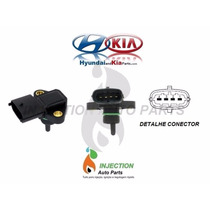 Sensor Map Turbina Hyundai H100 H200 Hr K2500 2.5 Até 2013