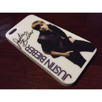 Funda Protectora De Justin Bieber Para Iphone 5 5s