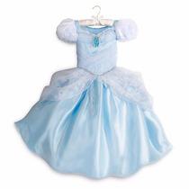 Disfraz Vestido Princesa La Cenicienta Disney Store Talles