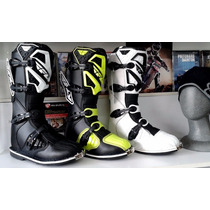 Combo Botas Y Cuello Fly Maverick Moto Cross Atv Ed 2016