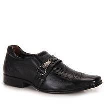 Sapato Social Masculino Pegada - Preto