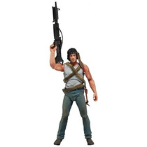 Boneco John J. Rambo First Blood Stallone Neca Filme Dvd