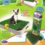Tapete Sanitário Grama Para Cães Xixi Green Grama Sintética