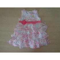 Vestido Lilica Ripilica Baby Babados 6-9meses