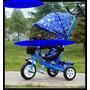 Triciclo De Niño, Con Guía