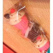 Souvenirs O Scrapbooking Cupcakes Pack 5 Unid.porcelana Fria