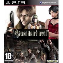 Resident Evil 4 Hd Playstation 3 Ps3 Cod Psn