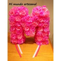 Piñata - Letra - Flores - Número - Nenas